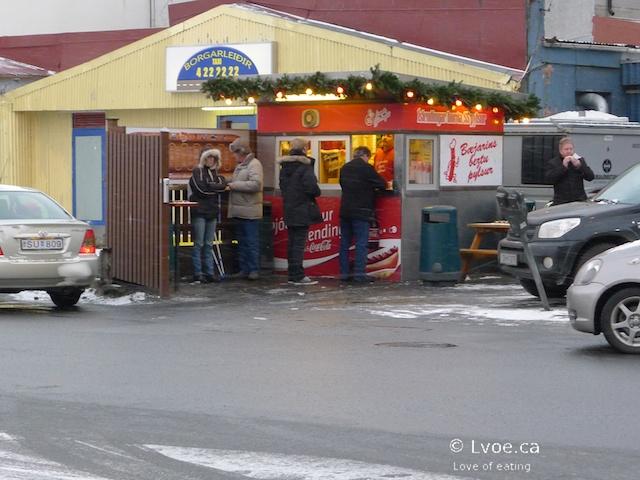 Icelandic Hot Dog Holder