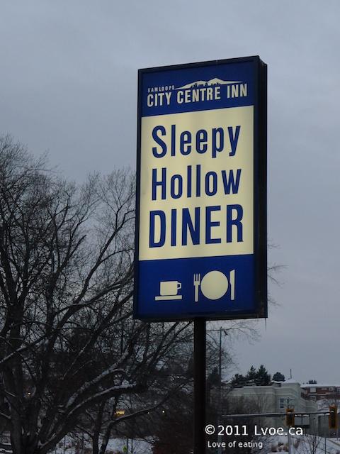 Sleepy Hollow Diner Kamloops Bc Love Of Eating